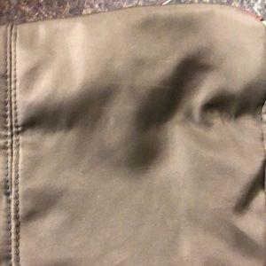 Avon Bags - Avon olive green & brown organizer purse tote